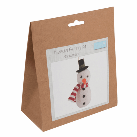 Trimits Snowman Christmas Needle Felting Kit