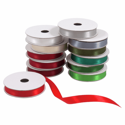 Festive Mix Satin Ribbon Bag 12pk