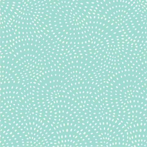 Dashwood Twist - Mint - 100% Cotton Fabric