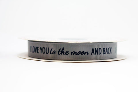 16mm Love You to the Moon Ribbon