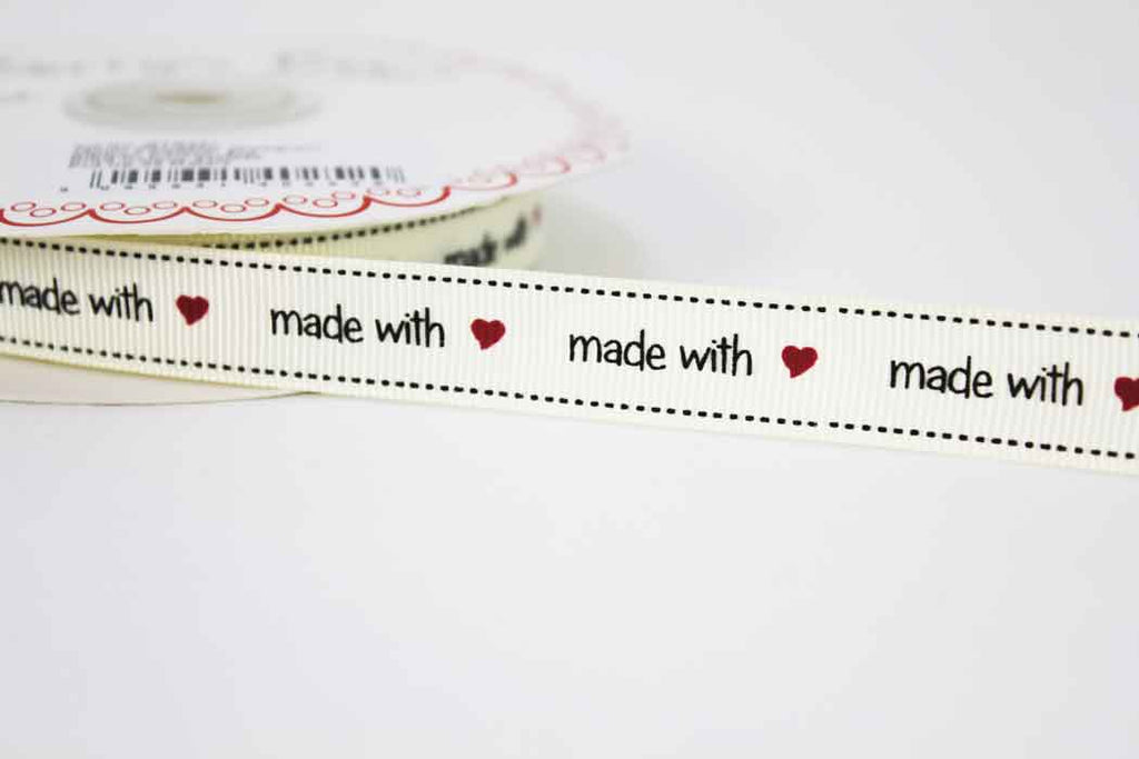 Made With Love Ribbon