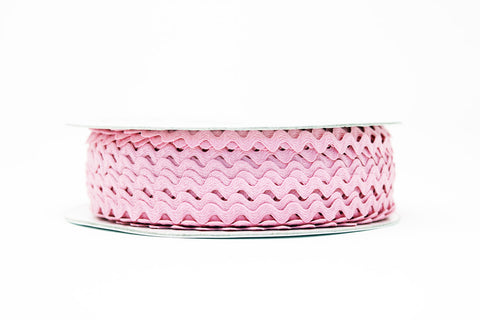 7mm Ric Rac Trim - Pale Pink