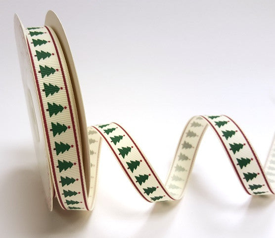 16mm Christmas Tree Ribbon