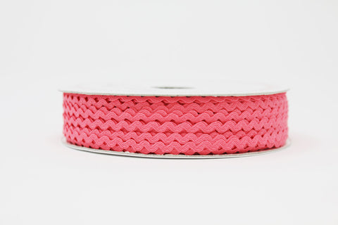 7mm Ric Rac Trim - Candy Pink