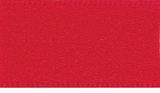 3mm Double Faced Satin Ribbon - Red