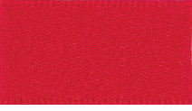 25mm Double Faced Satin Ribbon - Red