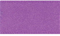 15mm Double Faced Satin Ribbon - Purple