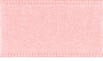 7mm Double Faced Satin Ribbon - Light Pink