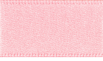 15mm Double Faced Satin Ribbon - Baby Pink