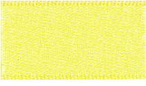 10mm Double Faced Satin Ribbon - Lemon