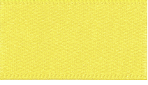 15mm Double Faced Satin Ribbon - Yellow