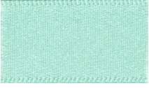 15mm Double Faced Satin Ribbon - Aqua Blue