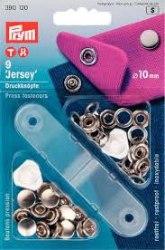 Prym Metal 10mm Silver 'Jersey' Press Fasteners with Tool