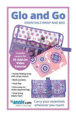 By Annie Bag Sewing Pattern - Glo and Go Bag