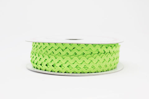 7mm Ric Rac Trim - Green Fizz