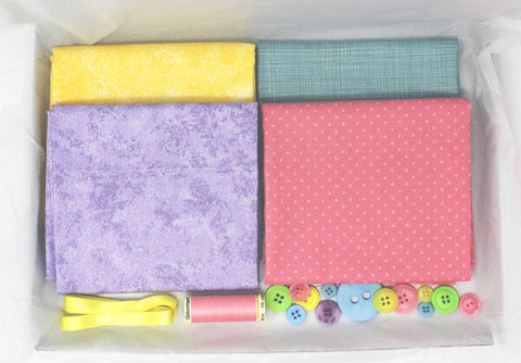 One-Off Standard Fabric Box - Ice Cream Pastels