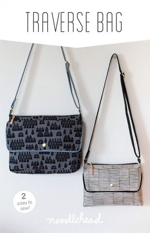 Noodlehead Sewing Pattern - Traverse Bag