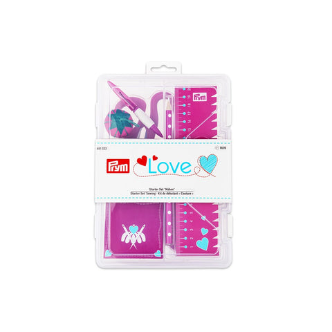 Prym Love Pink Sewing Starter Set