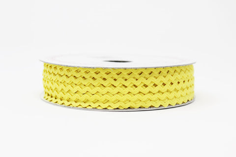 7mm Ric Rac Trim - Lemon Sorbet
