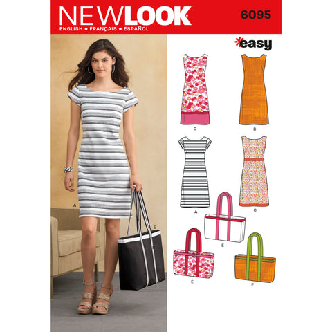 New Look Sewing Pattern 6095 - Misses' Dresses