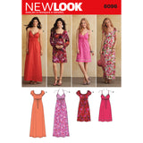 New Look Sewing Pattern 6096 - Misses' Dresses