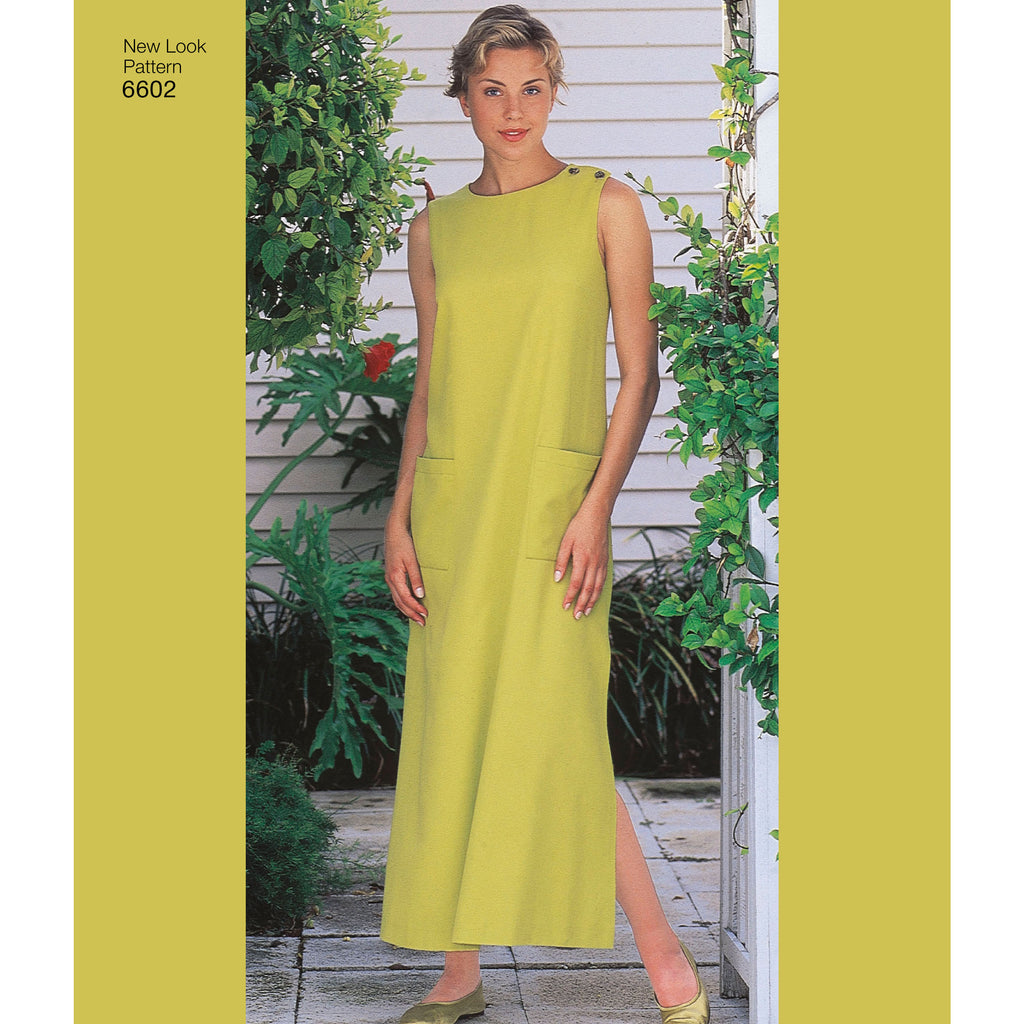 c8f99861038 New Look Sewing Pattern 6602 - Misses Dresses. Images   1   2   3   4