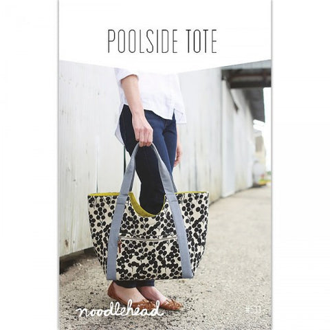 Noodlehead Sewing Pattern - Poolside Tote