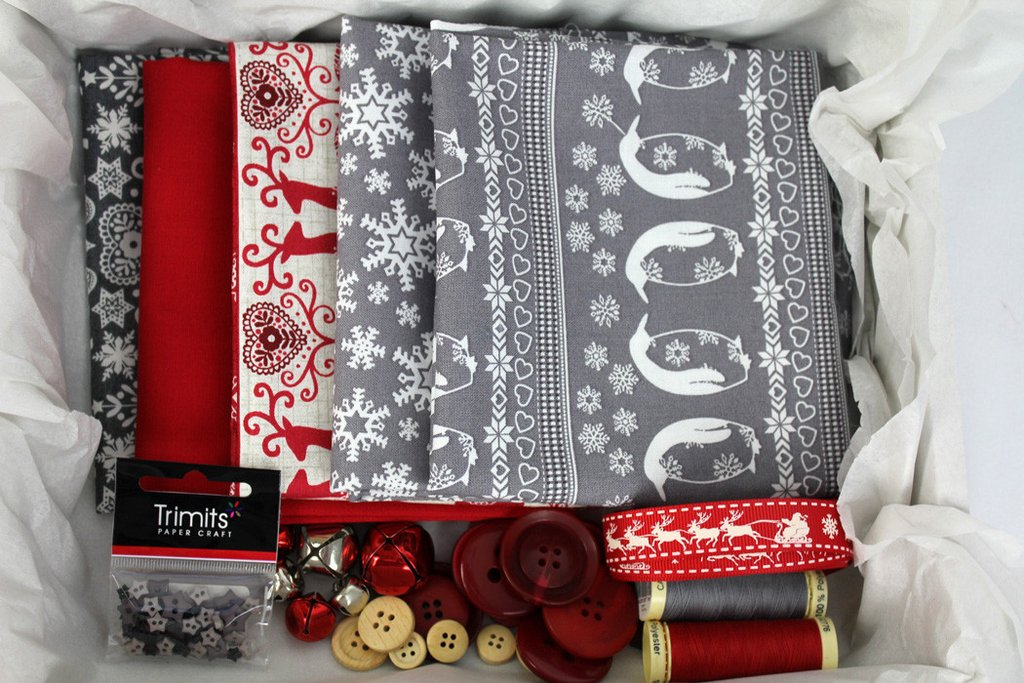 Luxury Monthly Fabric Subscription Box Sewing