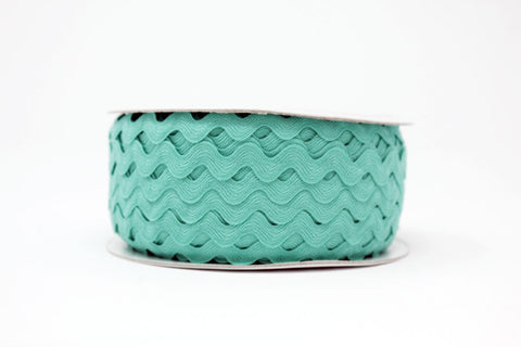 13mm Large Ric Rac - Sea Breeze