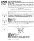 Simplicity Sewing Pattern 8229 - Women's Underwire Bras and Panties