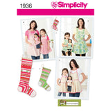 Simplicity Sewing Pattern 1936 - Child's & Women's Aprons