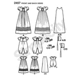 Simplicity Sewing Pattern 2457 - Babies' Special Occasion