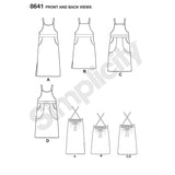Simplicity Sewing Pattern S8641 - Women's Jumper Dress