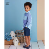 Simplicity Sewing Pattern S8852 - Child's Dresses and Shirt