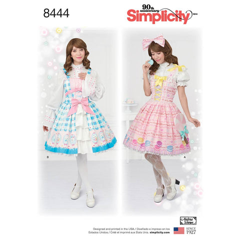 Simplicity Sewing Pattern 8444 - Women's Lolita Costume