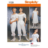 Simplicity Sewing Pattern 1139 - Women's Civil War Undergarments