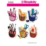 Simplicity Sewing Pattern 2450 - Mug Bucket Organiser