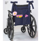 Simplicity Sewing Pattern 2822 - Wheelchair and Zimmer Frame Accessories and Holdalls