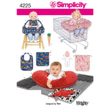 Simplicity Sewing Pattern 4225 - Baby Accessories