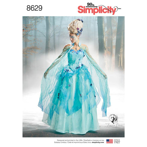 Simplicity Sewing Pattern 8629 - Women's Costume