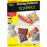 Simplicity Sewing Pattern 1044  - Pillows in Various Styles