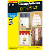 Simplicity Sewing Pattern 1152 - Window Treatments