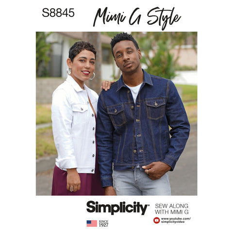Simplicity Sewing Pattern S8845 - Mimi G Jean Jacket
