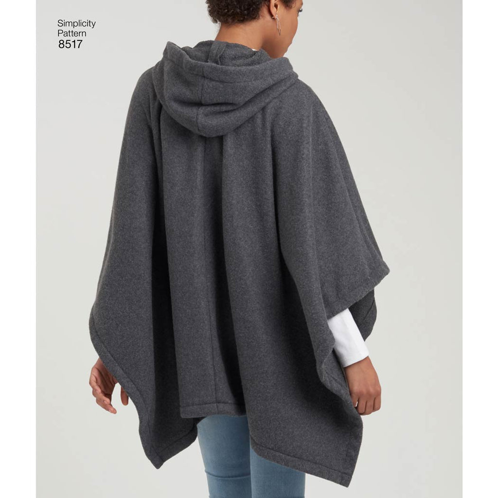 907ac01b7 Simplicity 8517 - Misses' Set of Ponchos | Sewing Patterns – My ...