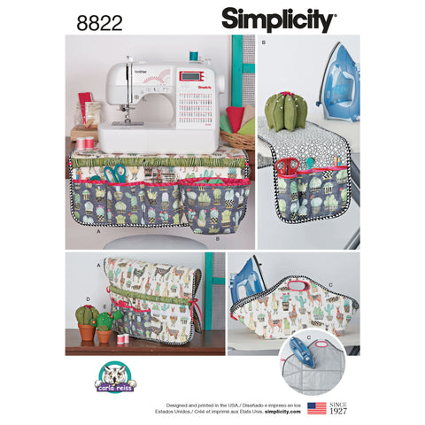 Simplicity Sewing Pattern 8822 - Sewing Accessories