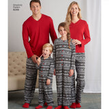 Simplicity Sewing Pattern 8269 - Child's Jumpsuit and Teens' and Adults' Trousers and Knit Top