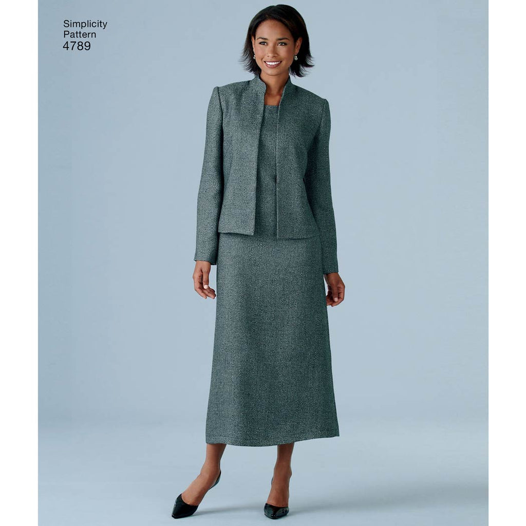 Simplicity 4789 Women S Amp Plus Size Smart And Casual