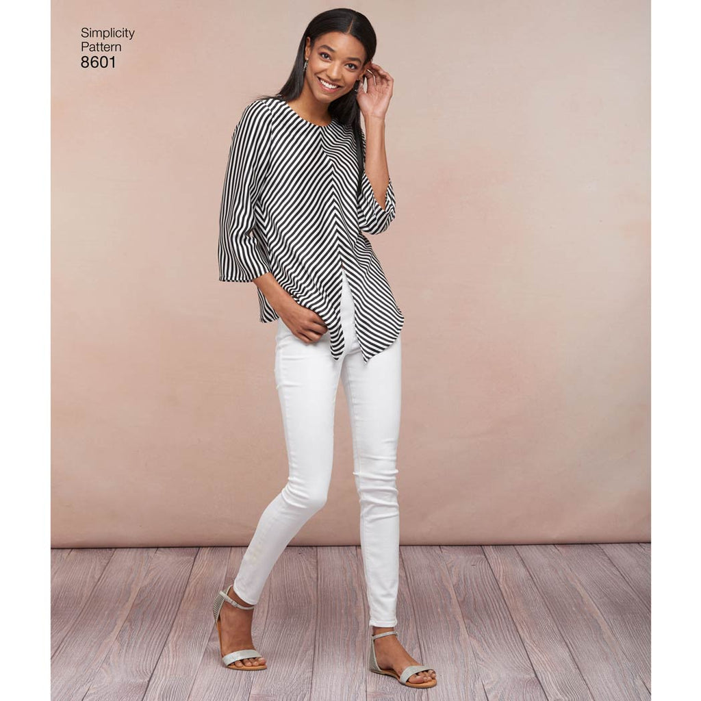 Simplicity Pattern 8601 - Women's Pullover Top