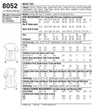 Simplicity Sewing Pattern 8052 - Women's Easy-to-Sew Tops