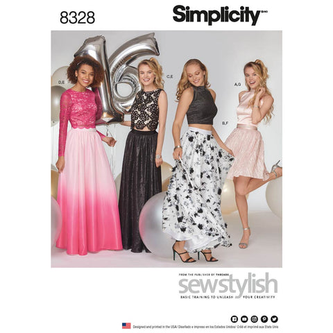 Simplicity Sewing Pattern 8328 - Women's Special Occasions Dress